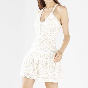 NEW BCBG MaxAzria Carlita Fit and Flare Lace Dress